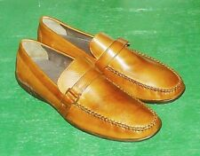 BOSTONIAN  Brown Leather Casual Loafer  9.5M   NEW !!   FREE Shipping !!