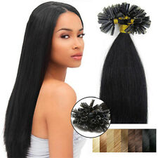 Pre Bonded Nail Tip U Tip Real Remy Human Hair Extensions 100S 200S 22Inch Long