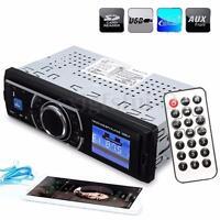 Car Radio Stereo Head Unit Player MP3/USB/SD/AUX-IN/FM In-dash IPod UK NON CD