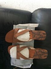Firetrap leather wedges, size 7. new in box
