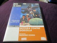 """RARE! DVD """"MOTHRA CONTRE GODZILLA"""" film Japonais de Inoshiro HONDA"""