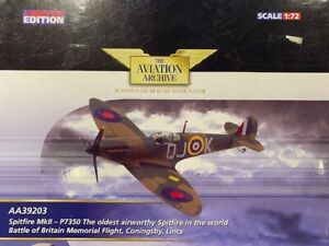 CORGI Aviation AA39203 - Spitfire P7350 Oldest airworthy Spitfire in the World
