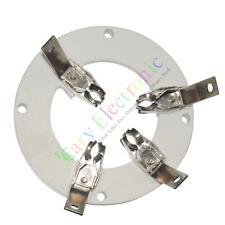 5pc 4Pin Ceramic vacuum Tube sockets valve for J212 audio amplifier DIY parts