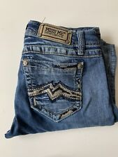 Miss Me Women Jeans 29 Easy Boot Cotton heavy stitch size flaw see description
