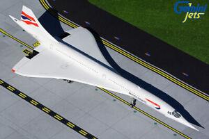 GEMINI JETS BRITISH AIRWAYS CONCORDE G2BAW915 REG G-BOAB 1:200 SCALE