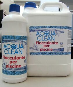 Acqua Clean Flockungsmittel X Becken 1L 5L Eliminiert Verhindert, Dass L'