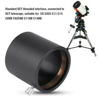2in SCT Telescope Compression Ring Adapter Thread Eyepiece Mount Accessory Kit