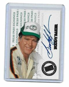 1999 Press Pass Signings Buddy Baker 1084/1500 AUTHENTIC AUTOGRAPH 22 YEARS OLD