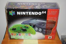 Toys R Us Limited Edition Nintendo 64 Console w/Extreme Green Pad - NEW, RARE!