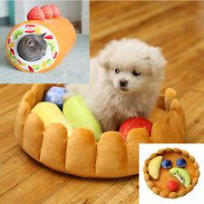 Pet Dog Creative Fruit Tart Soft Pad Keep Warm Comfy Kennel Cats Sleep Mat DP