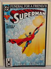 DC SUPERMAN (VOL 2) #77 RARE DC UNIVERSE LOGO 3RD PRINT VARIANT COVER VGF 1987