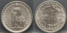 Zwitserland - Switzerland - 2 francs 1965 B