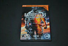 Battlefield 3: Premium Edition (PC, 2012) USED