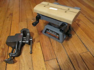 "Vintage Black & Decker Mini Workmate 79-025 Type 1 & 2.5"" bench clamp down vise"