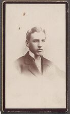 Vintage CDV Photo Man in Carte De Visite Portrait 706003