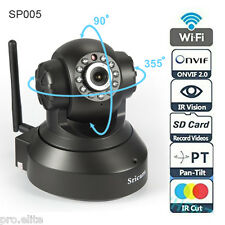 Sricam wireless wifi HD 720p CCTV IP indoor security camera with SD card slot BK