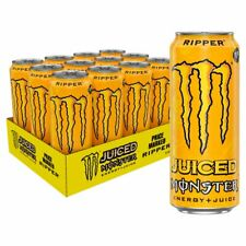 Monster Juiced Ripper Energy Drink 500ml x 12 Cans