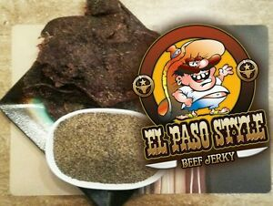 EL PASOS BEST BEEF JERKY!!! PEPPERED....TEXAS STYLE!!!