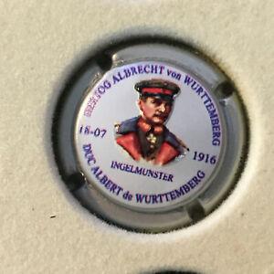 Capsule Champagne NOWACK N°24 Duc A. de Wurttemberg, en relief