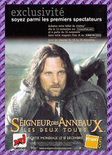Cartolina Manifesto del Film - Signore degli Anelli