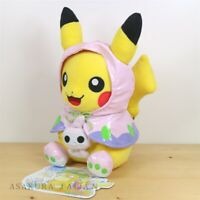 Pokemon Center Original Psyduck No-Tenki campaign Pikachu Plush doll