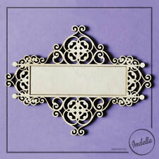 Decorative Frame Plaque Wooden Shapes 3 mm Plywood MDF Blanks Decoupage
