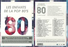 EDITION 2 DVD - ANNEES 80 avec GOLDMAN, JOHNNY HALLYDAY, BASHUNG / NEUF EMBALLE
