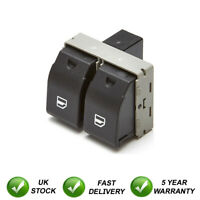 Double Electric Window Switch Button Front Right For Seat Ibiza Cordoba VW Polo