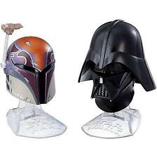 STAR WARS Black Series 08 Die-Cast Metal HELMETS Set SAbine WREN & DARTH VADER