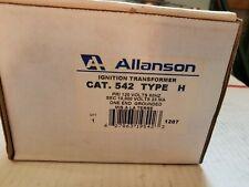 Allanson  cat 542 type H Ignition transformer
