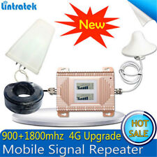 GSM DCS 900/1800MHz Dual Band Cell Phone Signal Booster Repeater Amplifier Kit