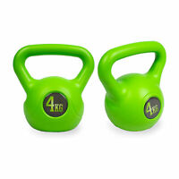 2 x Phoenix Fitness 4Kg Kettle Bell Weight, Strength Training, Home and Gym
