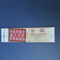 PATRICK ROY RETIRED  # 33 Ticket 2008 Montreal Canadiens Ken Dryden Guy Lafleur