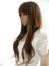 HE-J0020 New Long brown Fashion Wig Cosplay wigs for women