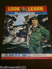 LOOK and LEARN # 331 - THE SPIRIT OF ST LOUIS - MAY 18 1968