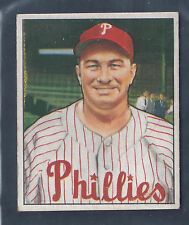 1950 Bowman #225 Eddie Sawyer Manager Philadelphia Phillies EX-MT Plus to NM