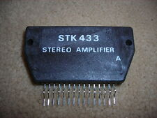"STK433 ""Original""  SANYO Stereo Amplifier 15P SIP IC 1 PC"