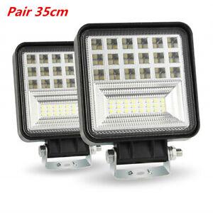 2X400W 6000K 40000LM LED Work Light Bar Flood Spot Beam 4WD SUV Driving Fog Lamp