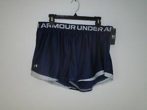 Under Armour Women's Play Up Shorts 2.0, Sz: XL. #1362517 410