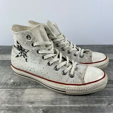 Converse CT Hi Shoes Egret 547252C Star Studded Womens Size 10 FAST SHIPPING