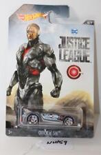 Mattel Hot Wheels DC Justice League Cyborg Quick n' Sik FNQHobby NH159