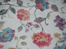 2 X Schlaufenschal Vorhang Gardine 140x245 Rosenmotiv Blumen Jacquard Blickdicht