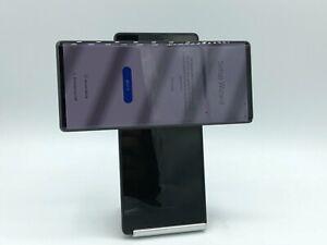 LG Wing 5G 256GB Grey Verizon Unlocked Back Crack
