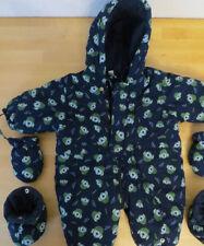 Prenatal Schneeanzug Schneeoverall mit Handschuhen und Überschuhen 5 teilig 3-6M