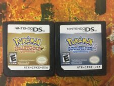 Pokemon Heart Gold + Soul Silver Lot Nintendo DS Authentic Tested