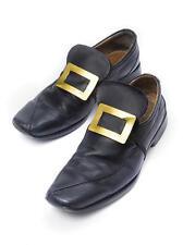 Black Boot Buckles Pirate Buccaneer Shoe Accessories Halloween Fancy Dress