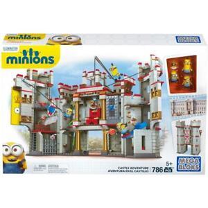 NEW Mega Bloks Despicable Me Minions Castle Adventure Movie Exclusive 786 Pieces