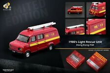 TINY 1980's Light Rescue Unit Ford Transit Mk 2 HONG KONG FSD Department LIMITED