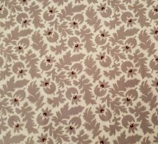 Bordeaux and Sienna BTY Paula Barnes Marcus Brother Civil War Taupe Cream Floral