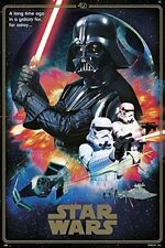 24x36 Star Wars Gallactic Empire Machine Blueprint Poster shrink wrapped